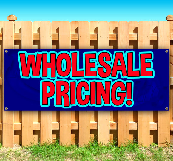 Wholesale Pricing Banner