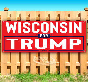 Wisconsin For Trump Banner