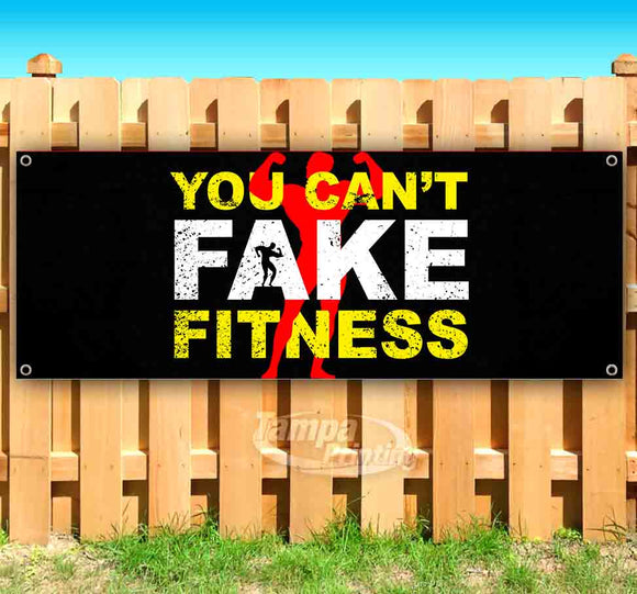 You Cant Fake Fitness G Banner