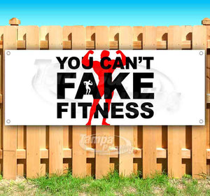 You Cant Fake Fitness Banner
