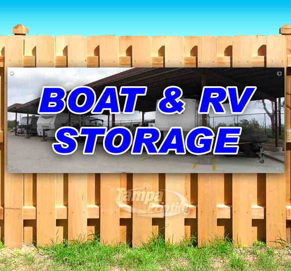 Boat and RV Storage Banner