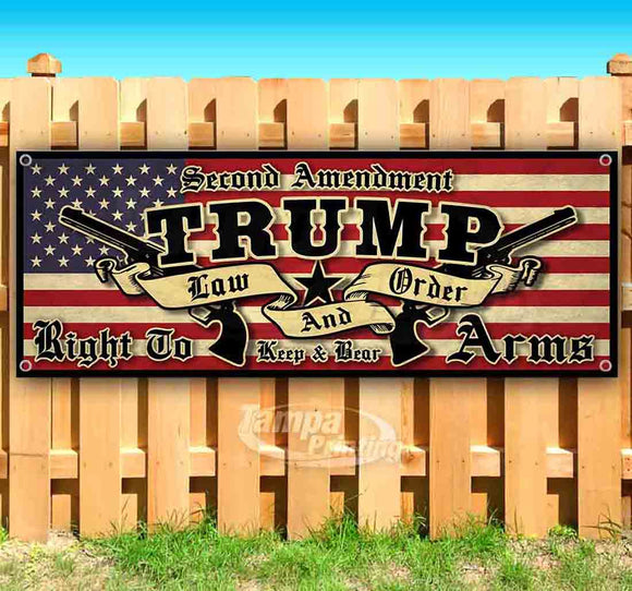 trump law and order Banner
