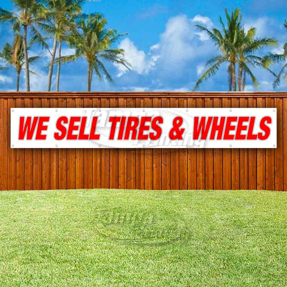 We Sell Tires XL Banner