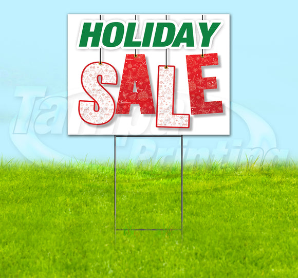 Holiday Sale Yard Sign