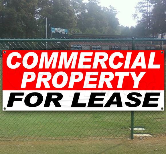 Commercial Property For Lease Banner
