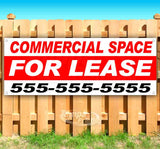 Commercial Space For Lease Banner