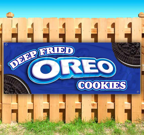 Deep Fried Oreo Cookies Banner