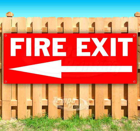 Fire Exit Banner