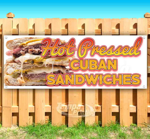 Hot Pressed Cuban Sandwiches Banner