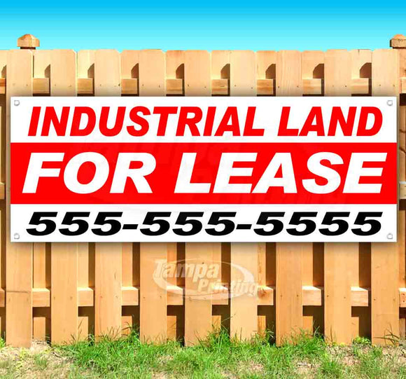 Industrial Land For Lease Banner