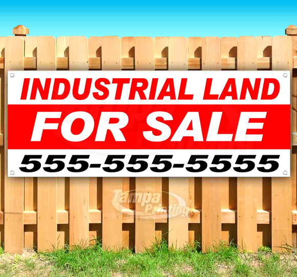 Industrial Land For Sale Banner
