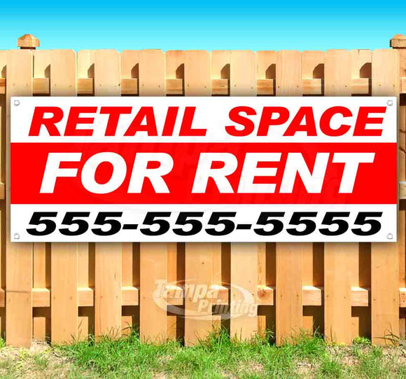 Retail Space For Rent Banner