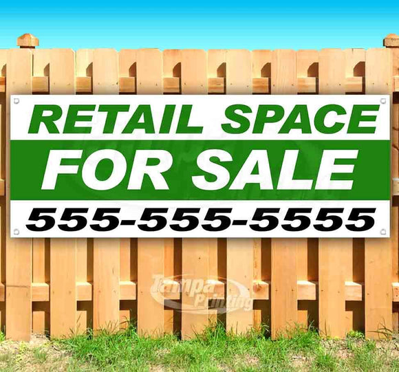 Retail Space For Sale Banner