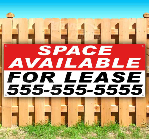 Space Available For Lease Banner