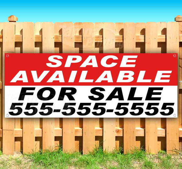 Space Available For Sale Banner