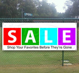 Sale Shop Before They're Gone Banner
