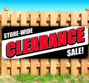 Store-Wide Clearance Sale Banner