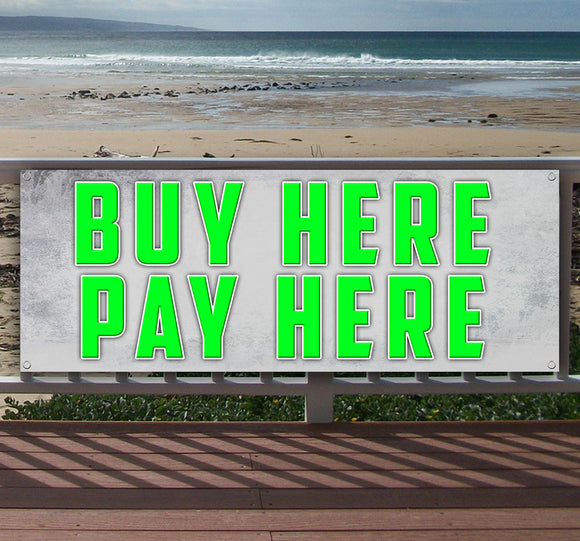 Buy Here Pay Here Banner