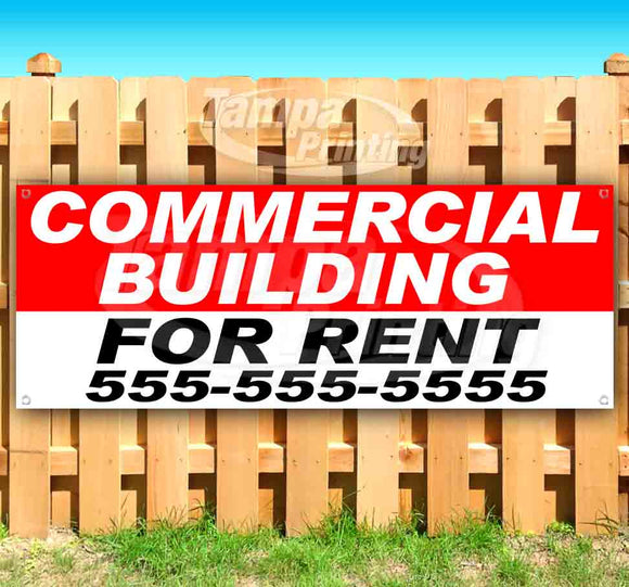 Commercial Building For Rent Banner