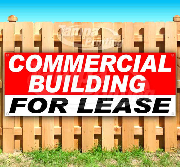 Commercial Building For Lease Banner
