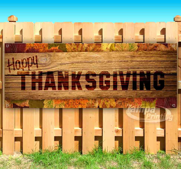 Happy Thanksgiving Banner