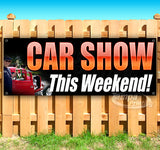 Car Show This Weekend Banner