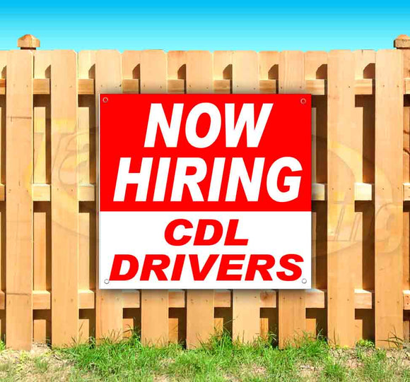 Now Hiring CDL Drivers SQUARE Banner