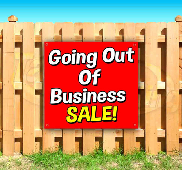 Going Out Of Business Sale SQUARE Banner