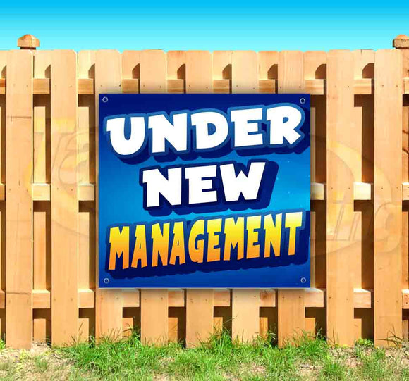 Under New Management! SQUARE Banner