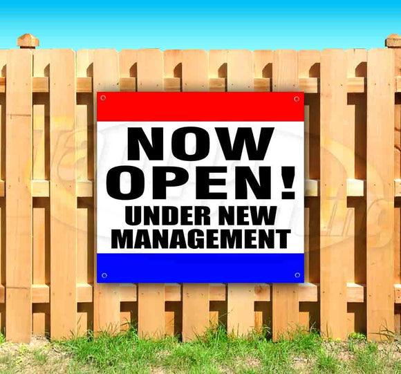 Now Open! Under New Management! SQUARE Banner