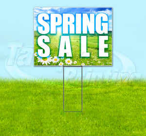 Spring Sale Yard Sign