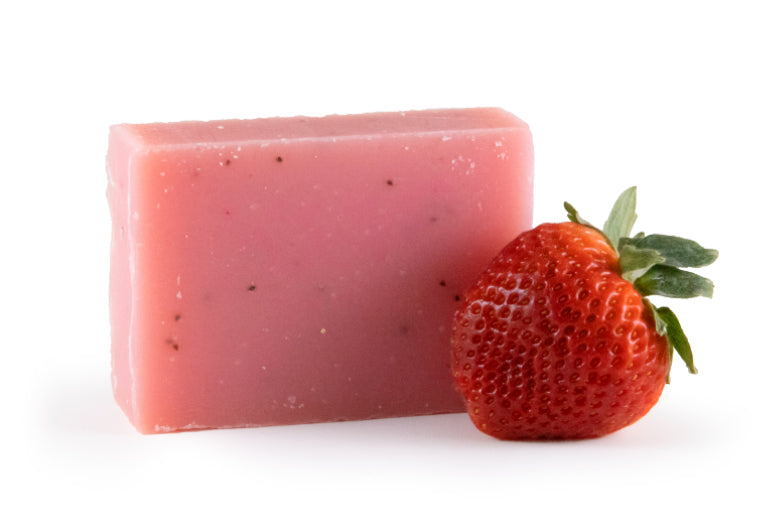Grapefruit Strawberry Soap Bar