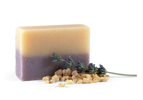 Vegan Frankincense & Lavender Soap Bar