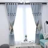 Modern Blackout Curtains For Living Room Bedroom Kitchen Window Sheer Curtain Panels Elk Dream The Forest Printed Pattern Drapes