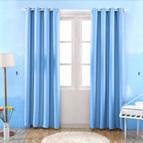 Blackout Window Curtain Short Sheer Voile White Tulle Curtains For Living Room Bedroom Drape Fabric Window Treatments Black Grey