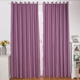 Modern Curtains For Living Room Bedroom Windows Blinds Treatment Drapes Solid Thick Fabric Blackout Curtains White Tulle Curtain