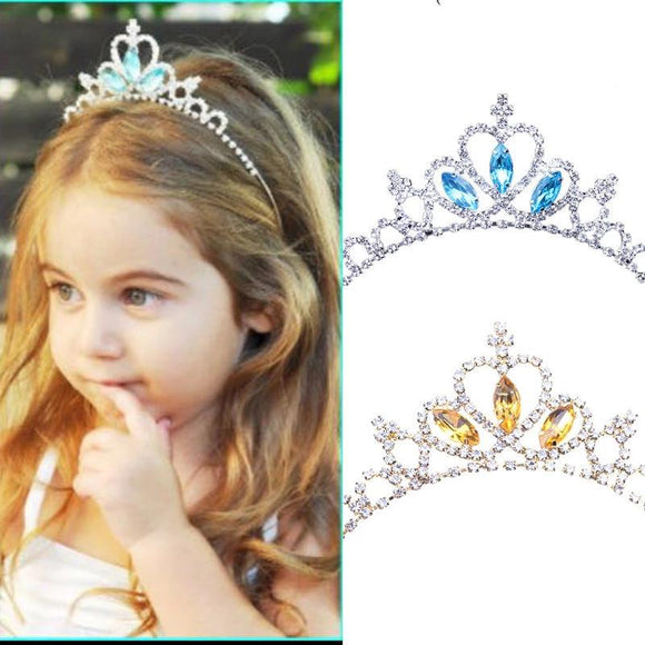 Princess Crown Hair Accessories Headdress Rhinestone Crown Headband