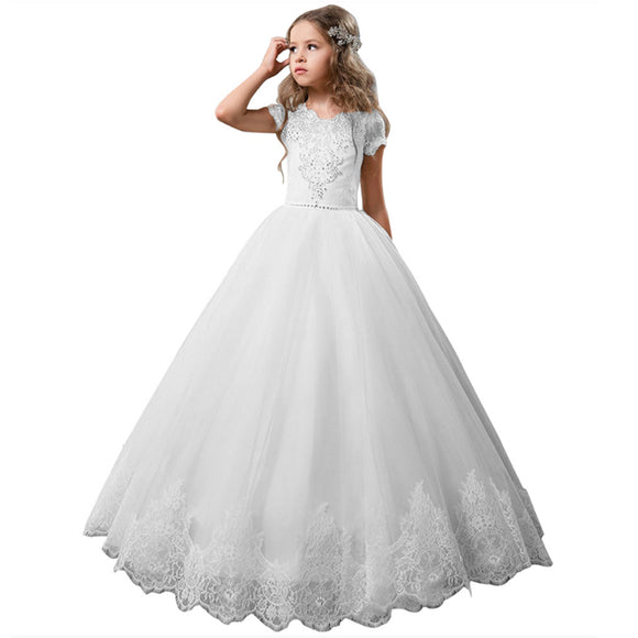 Kids Dresses for Girls Ball Gown Communion Girls Dresses