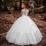 Girls Dresses Long Dress Kids Ball Gowns Fancy First Communion Dress for Girls