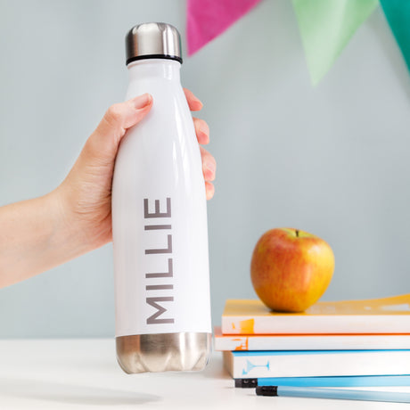 Personalised Back To School Water Bottle