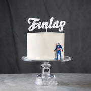 Personalised Acrylic Name Cake Topper