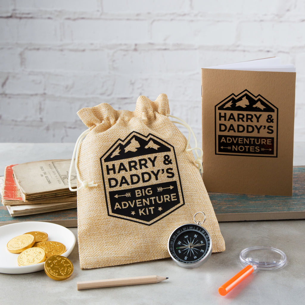 Personalised Father's Day Big Adventure Kit