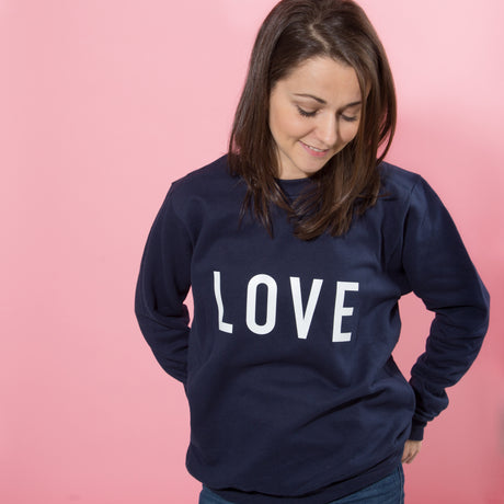Personalised Statement Valentine's Day Jumper