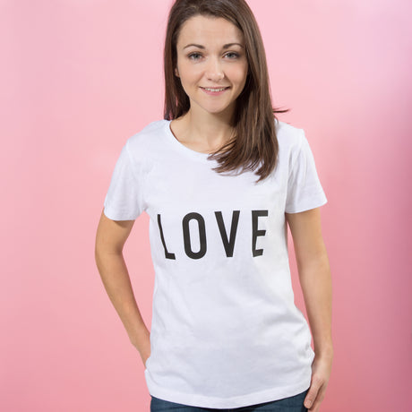 Personalised Valentine's Day Statement T Shirt