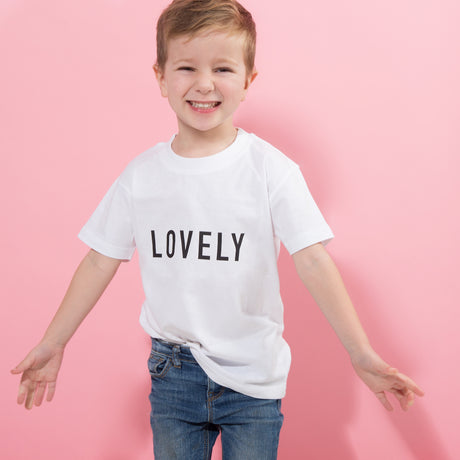 Personalised Childs Valentine's Day Statement T Shirt