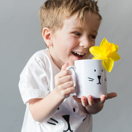 Easter Bunny Mug And T Shirt Set