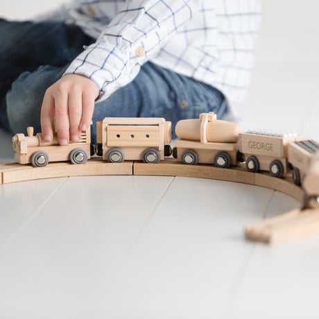 Wooden Train Track