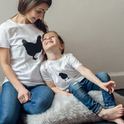 Mother Hen And Chick Mother's Day T Shirt Set