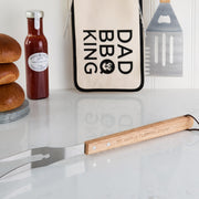 Personalised Father's Day Bbq Tool Kit And Bag
