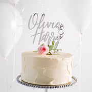 Personalised Classic Couples Cake Topper